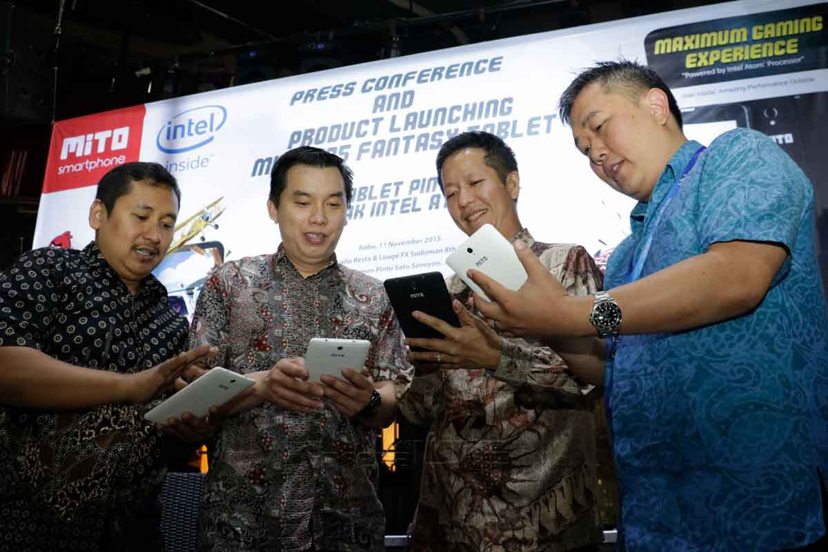 Seremoni launching tablet Mito T35 Fantasy (Foto: Bimo/ArenalTE)