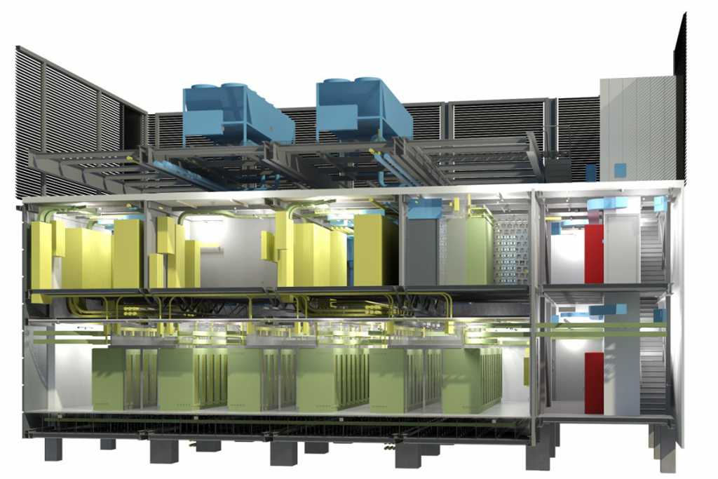modular XL data center concept