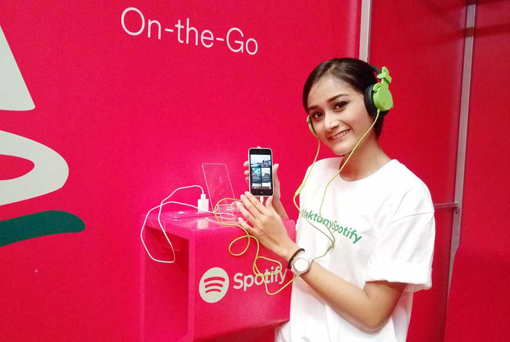 spotify indonesia streaming musik