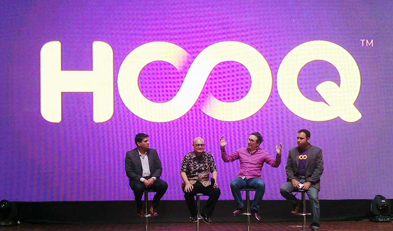 layanan streaming video HOOQ