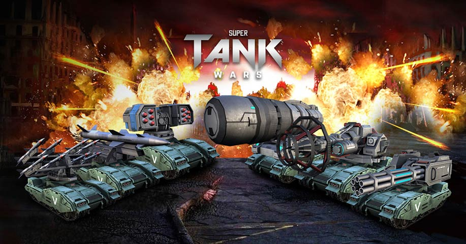 Game Super Tank Wars