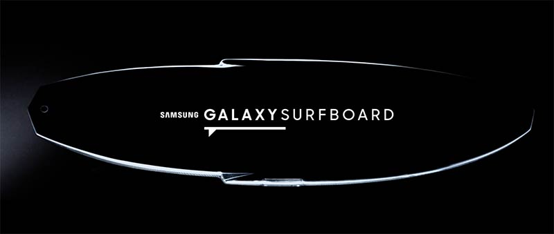 samsung galaxy surfboard