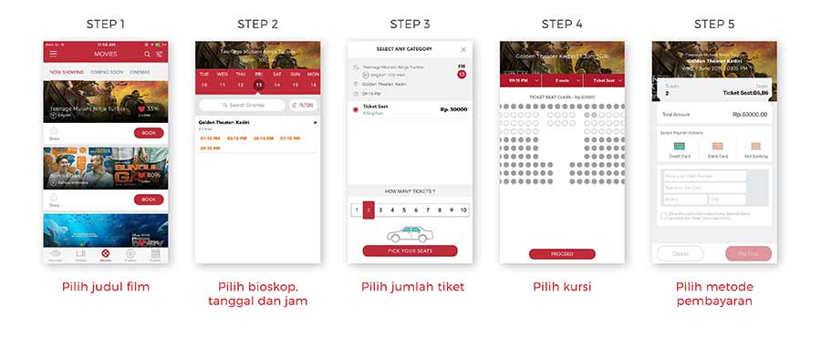 aplikasi BookMyShow indonesia