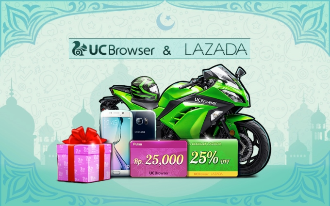 UC Browser x Lazada Indonesia-Interactive game designed by UC Browser