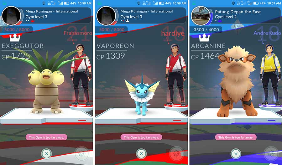 Monster Pokemon Go Terbaik