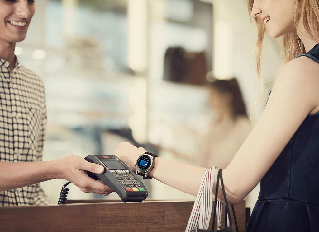 Gear S3  samsung pay mobile payment