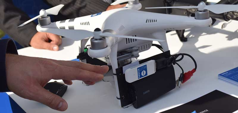 small drone nokia network