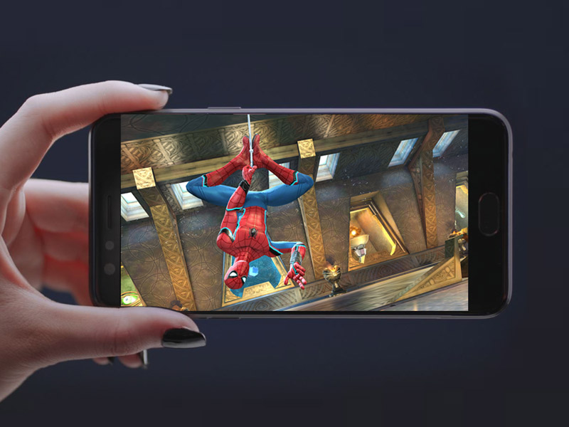 game-spiderman-terbaik-2017-android-OPPO-F3-Black