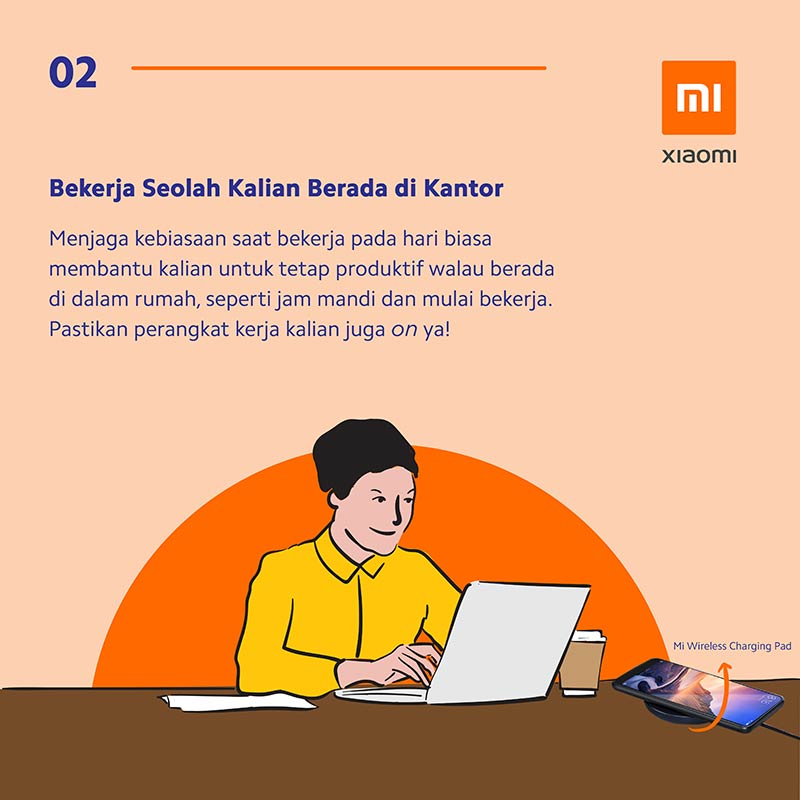 Infografis: 8 Tips & Trik Working From Home (WFH) Ala Xiaomi 1