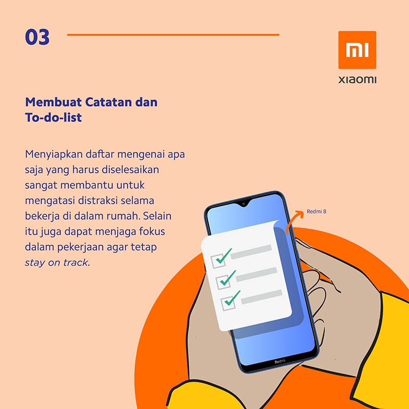 Infografis: 8 Tips & Trik Working From Home (WFH) Ala Xiaomi 2